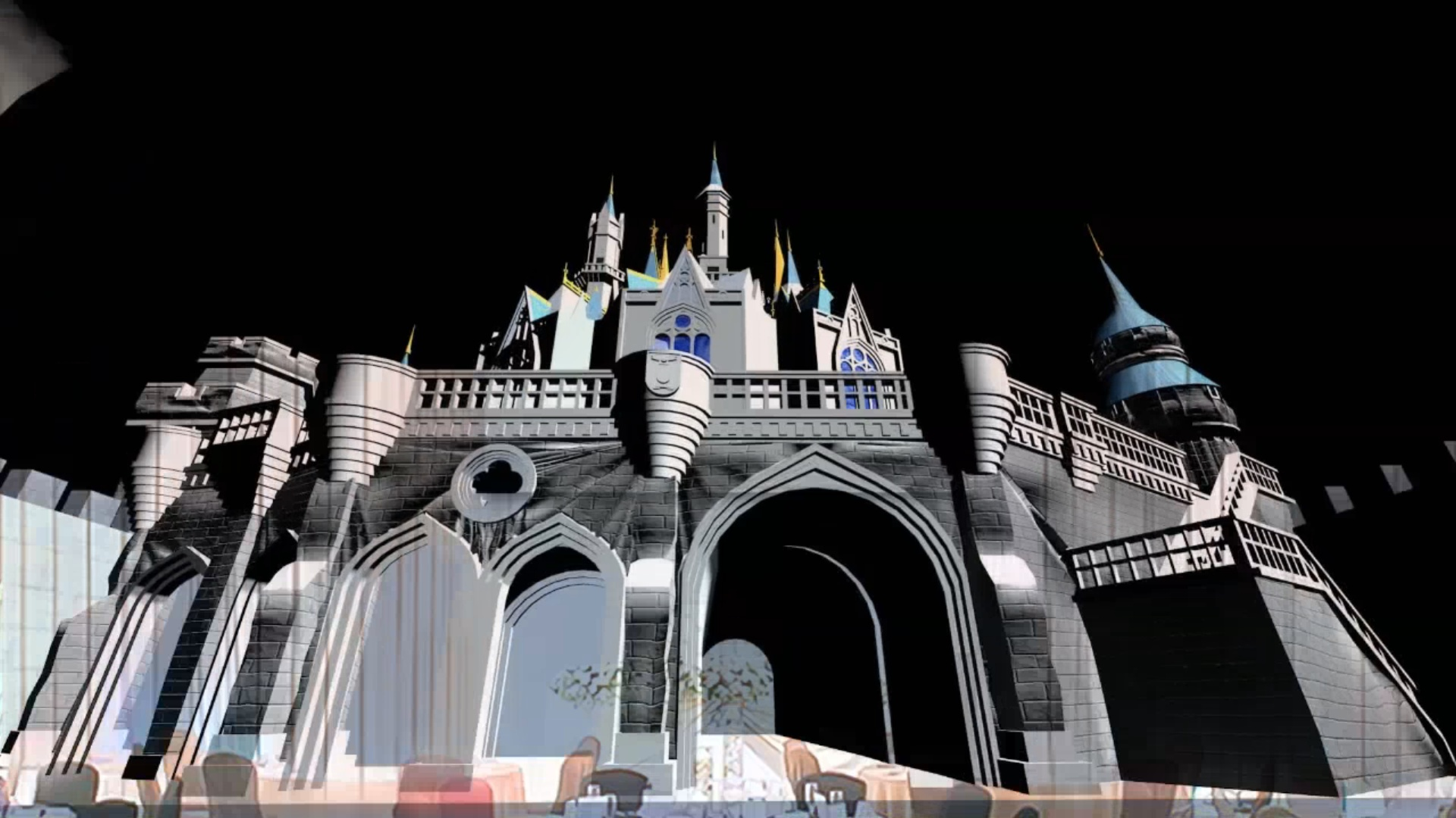 WEDDING PROJECTION MAPPING ~Princess~